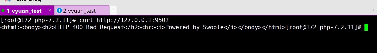 swoole4.x 在php7.2上